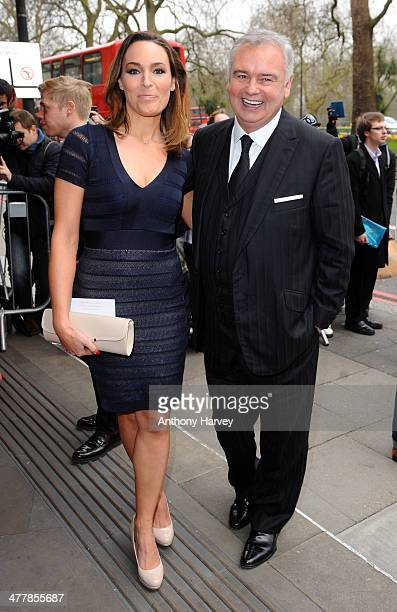 Isabel Webster and Eamon Holmes attend the 2014 TRIC Awards at The Grosvenor House Hotel on March 11 2014 in London England