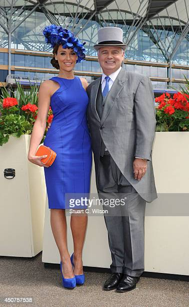 Isabel Webster and Eamonn Holmes attend Day 1 of Royal Ascot at Ascot Racecourse on June 17 2014 in Ascot England