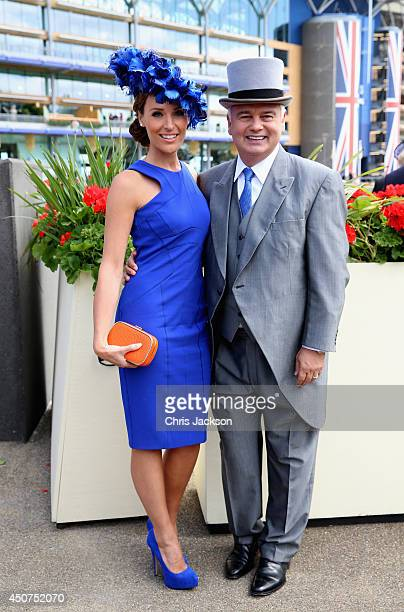 Isabel Webster and Eamonn Holmes attend day one of Royal Ascot at Ascot Racecourse on June 17 2014 in Ascot England