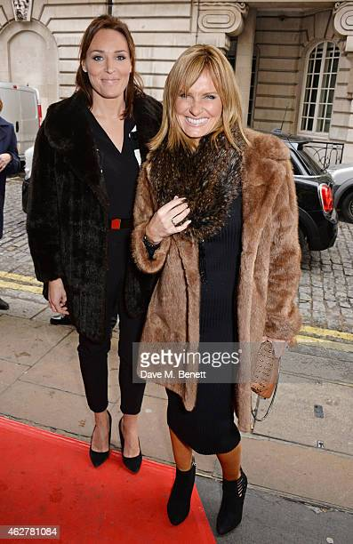 Isabel Webster and Jacquie Beltrao attend a VIP Screening of Still Alice at The Curzon Mayfair on February 5 2015 in London England