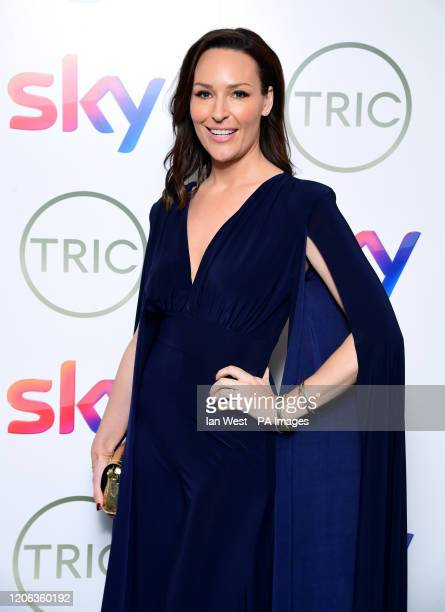 Isabel Webster attending the TRIC Awards 2020 held at the Grosvenor Hotel London