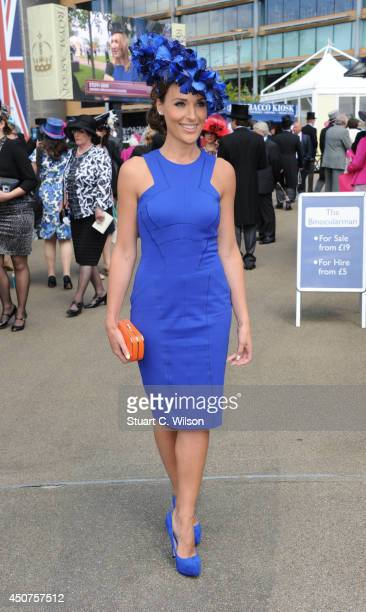 Isabel Webster attends Day 1 of Royal Ascot at Ascot Racecourse on June 17 2014 in Ascot England