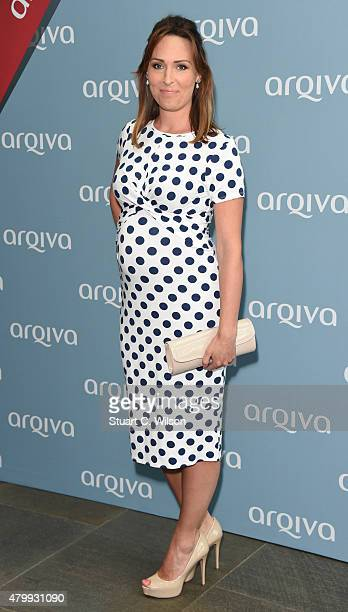 Isabel Webster attends the Arqiva Commercial Radio Awards at The Roundhouse on July 8 2015 in London England