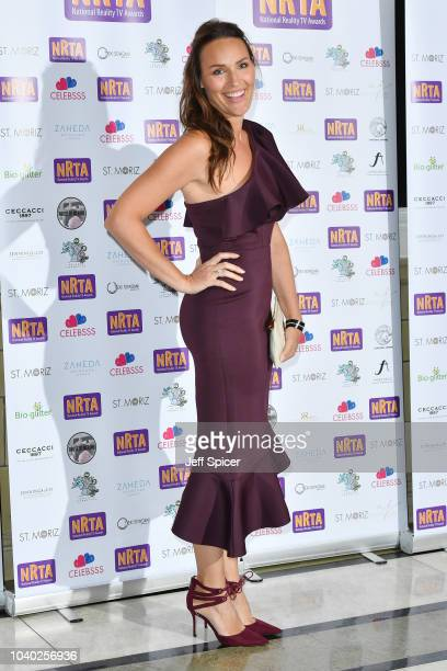 Isabel Webster attends the National Reality TV Awards held at Porchester Hall on September 25 2018 in London England