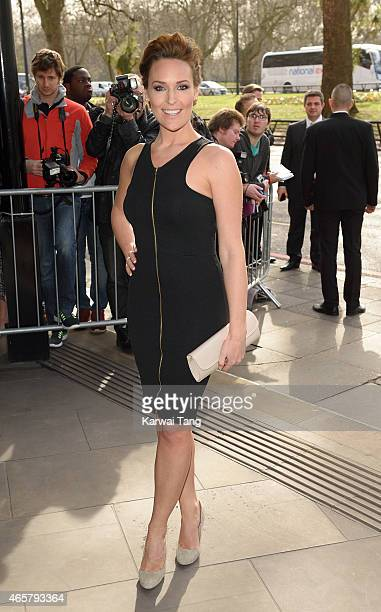 Isabel Webster attends the TRIC Awards at Grosvenor House Hotel on March 10 2015 in London England