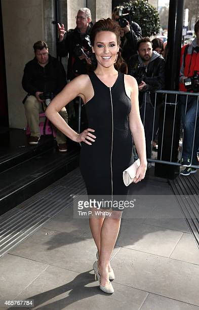 Isabel Webster attends the TRIC Awards at Grosvenour House Hotel on March 10 2015 in London England