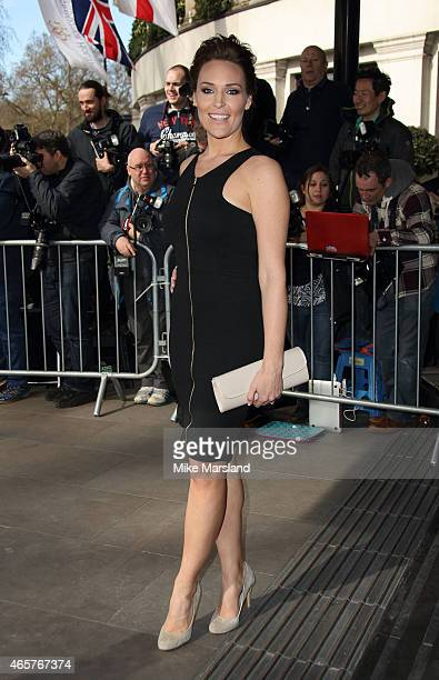 Isabel Webster attends the TRIC Awards on March 10 2015 in London England