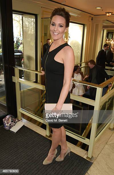 Isabel Webster attends the TRIC Television and Radio Industries Club Awards at The Grosvenor House Hotel on March 10 2015 in London England