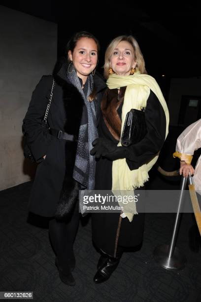 Isabel Wilkinson and Eileen Guggenheim attend THE CINEMA SOCIETY NEXTBOOK GREY GOOSE host a screening of DEFIANCE at Landmark Sunshine Theater on...