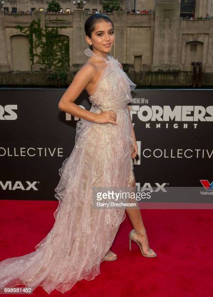 Isabela Moner appears at the Transformers: The Last Knight Chicago premiere at Civic Opera Building on June 20, 2017 in Chicago, Illinois.