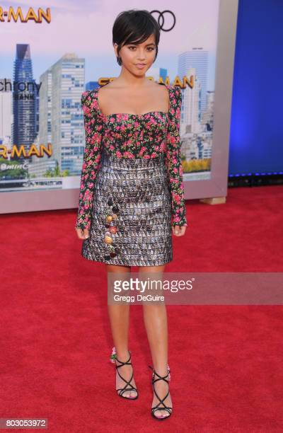 Isabela Moner arrives at the premiere of Columbia Pictures' 'SpiderMan Homecoming' at TCL Chinese Theatre on June 28 2017 in Hollywood California
