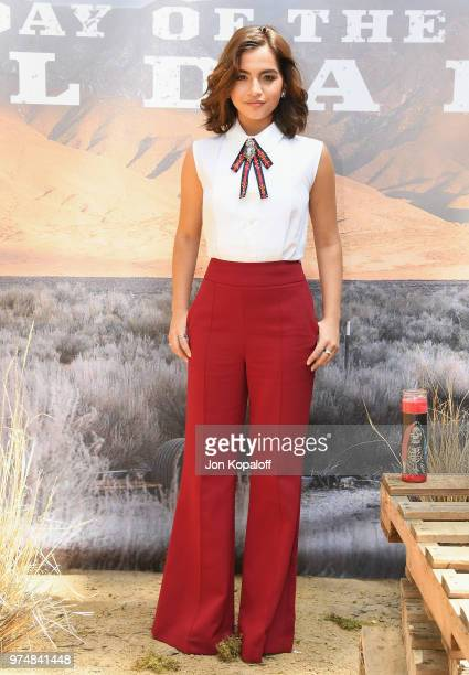 Isabela Moner attends Sicario Day Of The Soldado Photo Call at Four Seasons Hotel Los Angeles at Beverly Hills on June 14 2018 in Los Angeles...