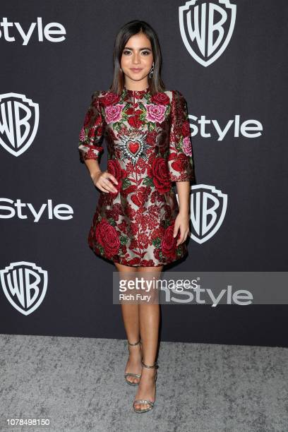 Isabela Moner attends the InStyle And Warner Bros. Golden Globes After Party 2019 at The Beverly Hilton Hotel on January 6, 2019 in Beverly Hills,...