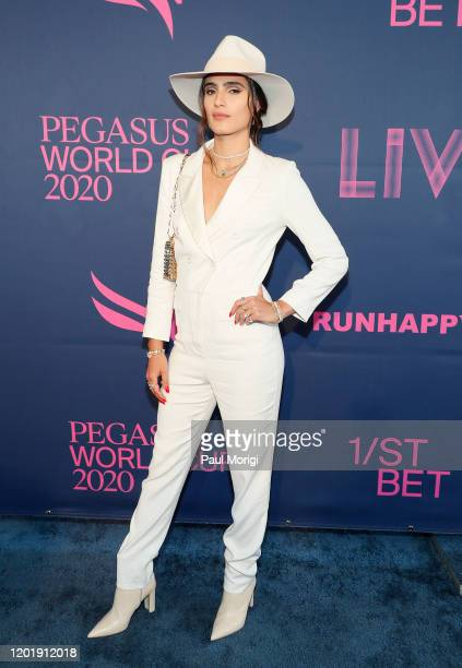 Isabela Rangel Grutman attends the 2020 Pegasus World Cup Championship Invitational Series at Gulfstream Park on January 25 2020 in Hallandale Florida