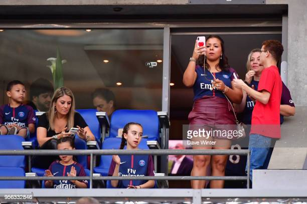 Isabele Silva during the French Cup Final between Les Herbiers and Paris Saint Germain at Stade de France on May 8 2018 in Paris France