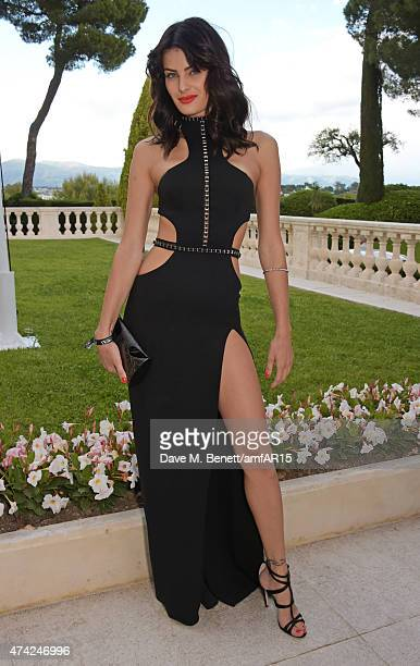Isabeli Fontana arrives at amfAR's 22nd Cinema Against AIDS Gala Presented By Bold Films And Harry Winston at Hotel du CapEdenRoc on May 21 2015 in...