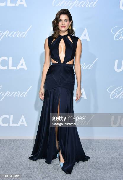 Isabeli Fontana arrives at the 2019 Hollywood For Science Gala at Private Residence on February 21 2019 in Los Angeles California
