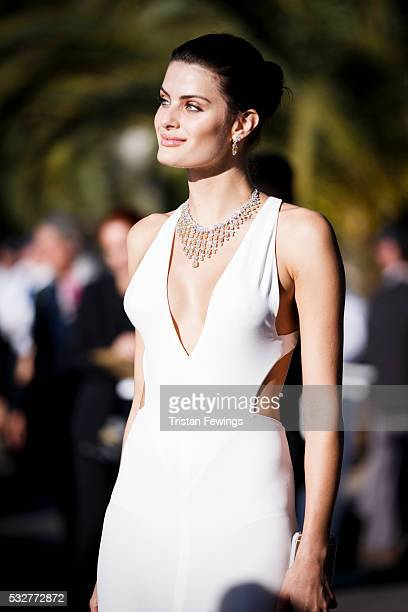 Isabeli Fontana arrives at the amfAR's 23rd Cinema Against AIDS Gala at Hotel du CapEdenRoc on May 19 2016 in Cap d'Antibes France