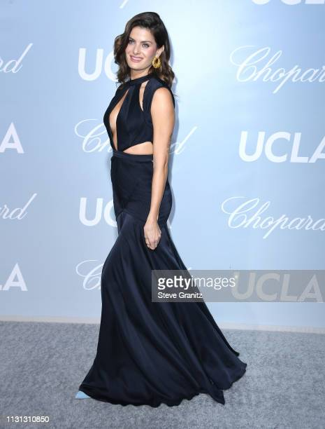 Isabeli Fontana arrives at the Hollywood For Science Gala at Private Residence on February 21, 2019 in Los Angeles, California.