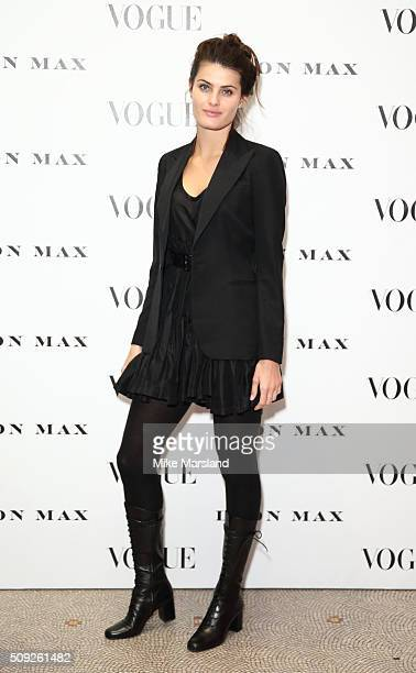 Isabeli Fontana attends at Vogue 100 A Century Of Style atNational Portrait Gallery on February 9 2016 in London England