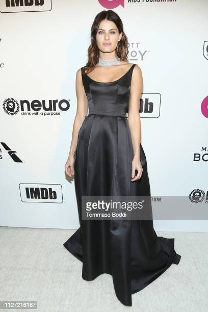 Isabeli Fontana attends IMDb LIVE At The Elton John AIDS Foundation Academy Awards® Viewing Party on February 24 2019 in Los Angeles California