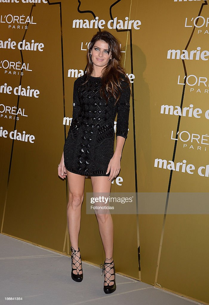 Isabeli Fontana attends 'Marie Claire Prix de la Mode 2012' ceremony at the French Ambassadors Residence on November 22, 2012 in Madrid, Spain.