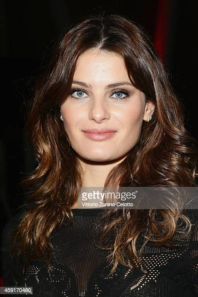 Isabeli Fontana attends the 2015 Pirelli Calendar Press Conference on November 18 2014 in Milan Italy
