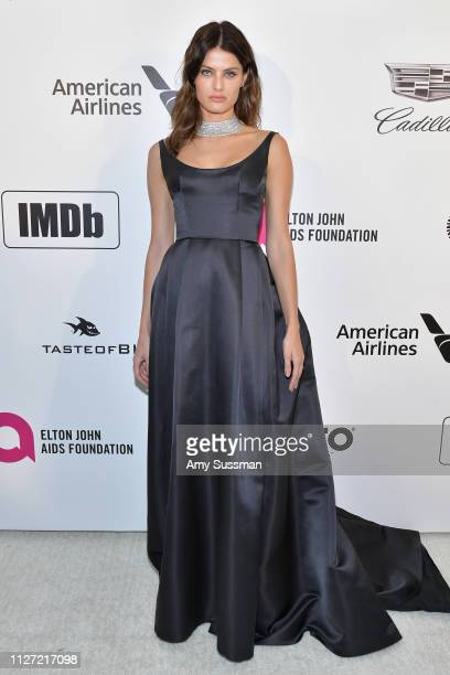 Isabeli Fontana attends the 27th annual Elton John AIDS Foundation Academy Awards Viewing Party celebrating EJAF and the 91st Academy Awards on...