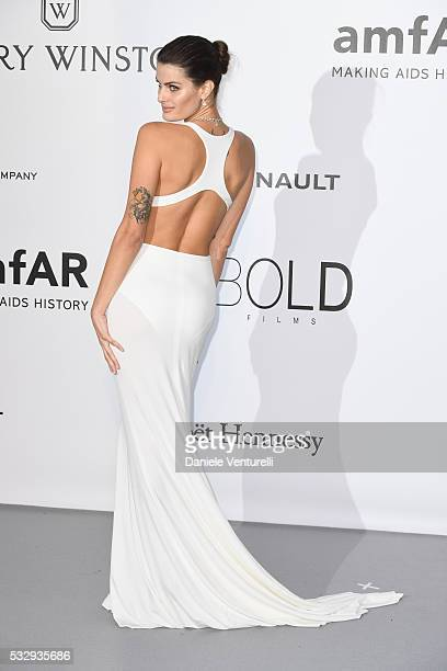 Isabeli Fontana attends the amfAR's 23rd Cinema Against AIDS Gala at Hotel du CapEdenRoc on May 19 2016 in Cap d'Antibes