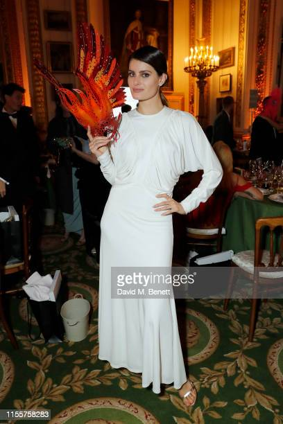 Isabeli Fontana attends The Animal Ball presented by Elephant Family at Lancaster House on June 13 2019 in London England