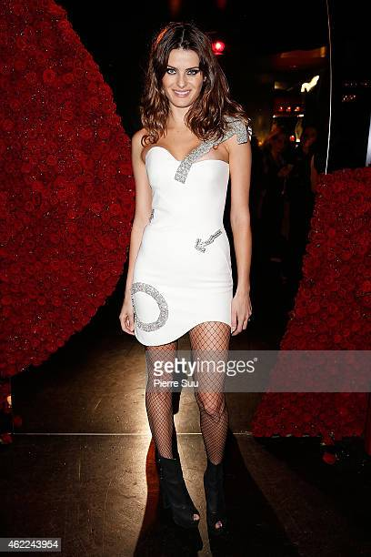 Isabeli Fontana attends the Atelier Versace after party at 'l'arc' club on January 25 2015 in Paris France