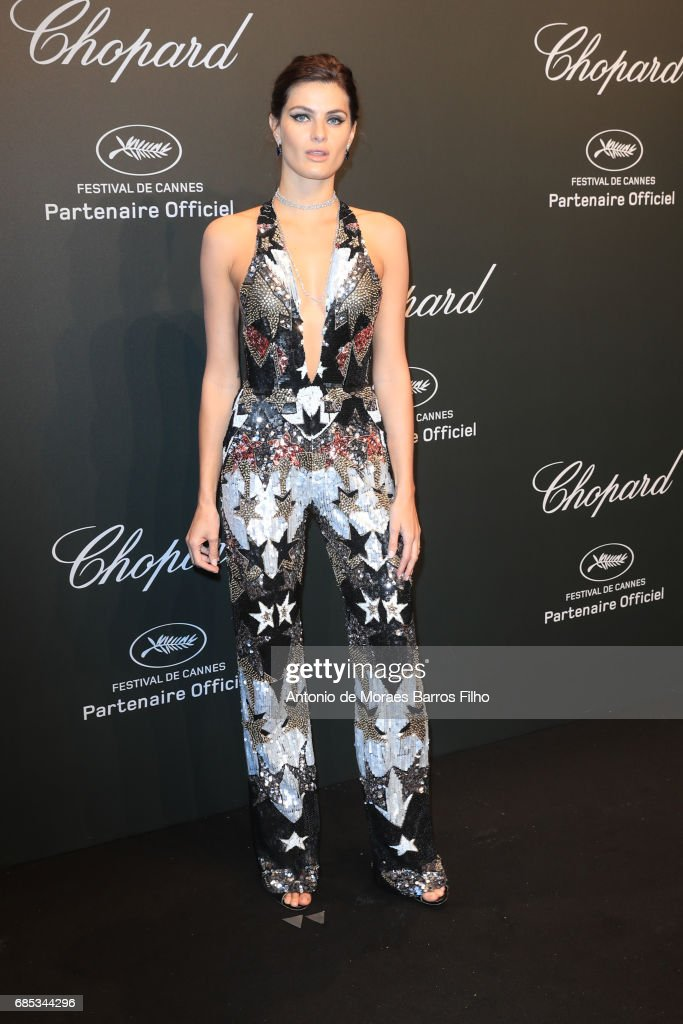 Isabeli Fontana attends the Chopard Party during the 70th annual Cannes Film Festival at on May 19, 2017 in Cannes, France.