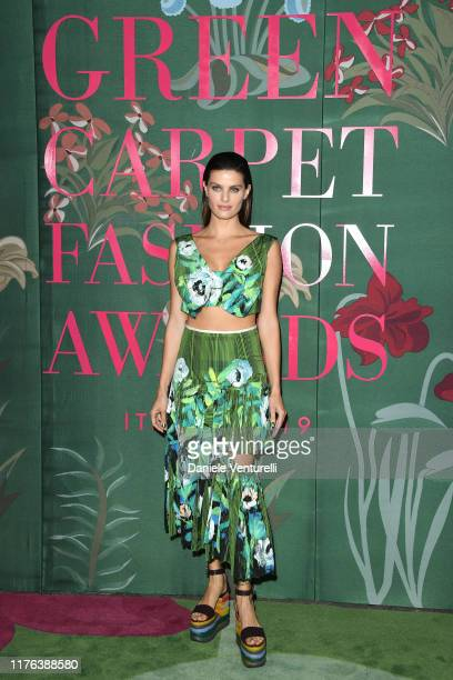 Isabeli Fontana attends the Green Carpet Fashion Awards during the Milan Fashion Week Spring/Summer 2020 on September 22 2019 in Milan Italy