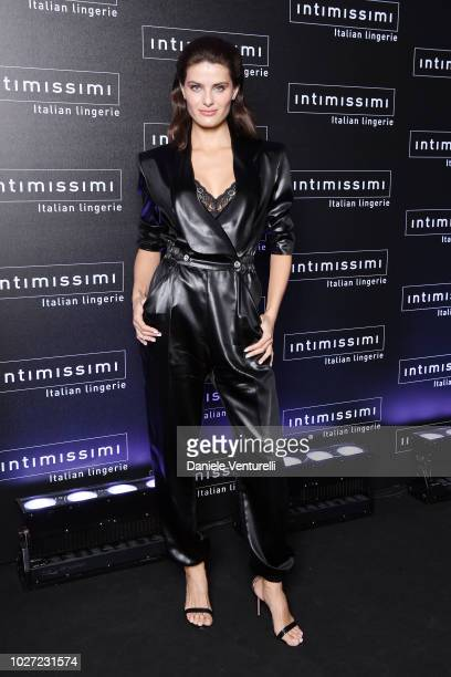 Isabeli Fontana attends the Intimissimi Show on September 5 2018 in Verona Italy