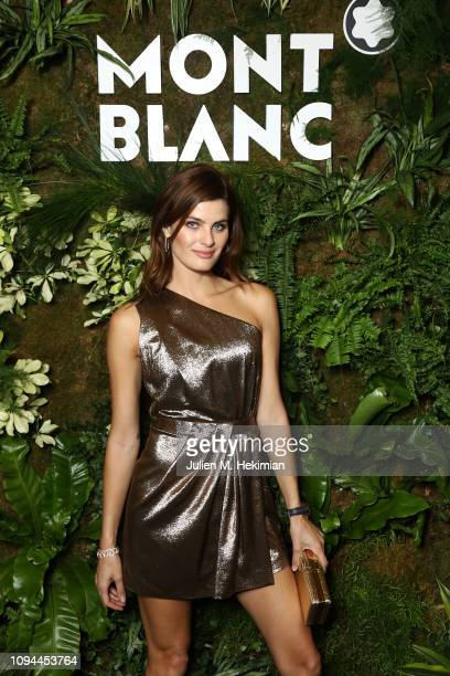 Isabeli Fontana attends the Montblanc Cocktail at SIHH 2019 Palexpo on January 14 2019 in Geneva Switzerland