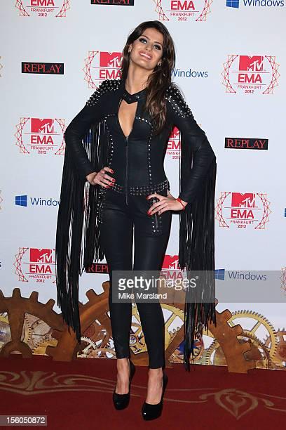 Isabeli Fontana attends the MTV EMA's 2012 at Festhalle Frankfurt on November 11 2012 in Frankfurt am Main Germany