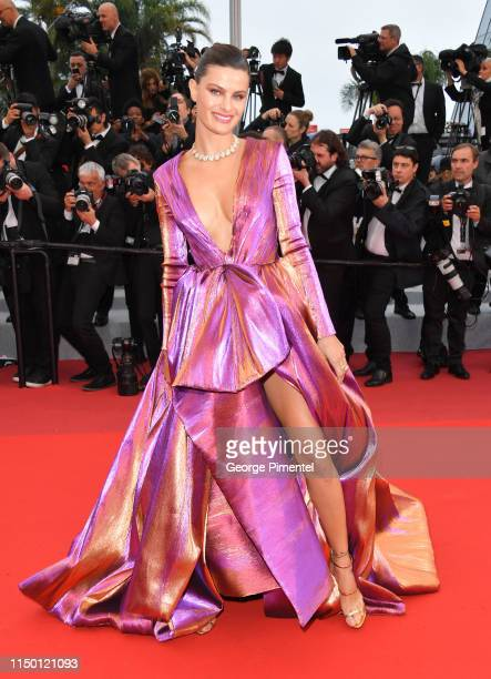 Isabeli Fontana attends the screening of Les Plus Belles Annees D'Une Vie during the 72nd annual Cannes Film Festival on May 18 2019 in Cannes France