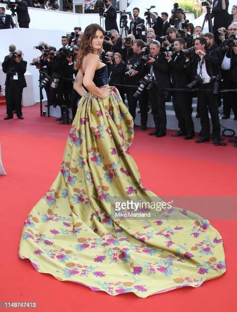 Isabeli Fontana attends the screening of Rocketman during the 72nd annual Cannes Film Festival on May 16 2019 in Cannes France