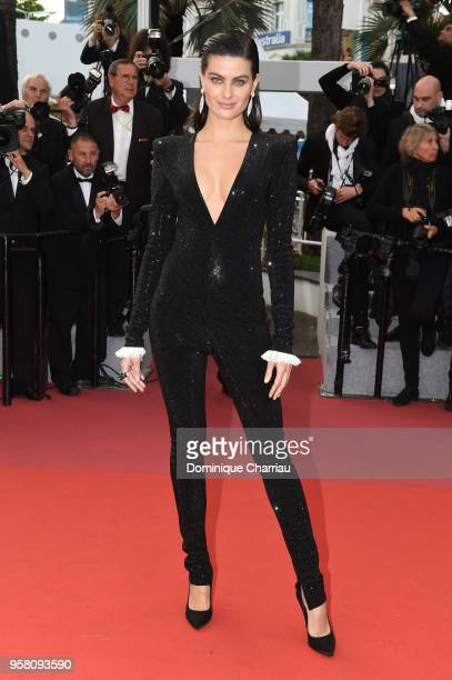 Isabeli Fontana attends the screening of Sink Or Swim during the 71st annual Cannes Film Festival at Palais des Festivals on May 13 2018 in Cannes...