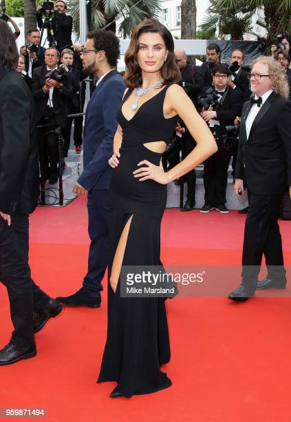 Isabeli Fontana attends the screening of The Wild Pear Tree during the 71st annual Cannes Film Festival at Palais des Festivals on May 18 2018 in...