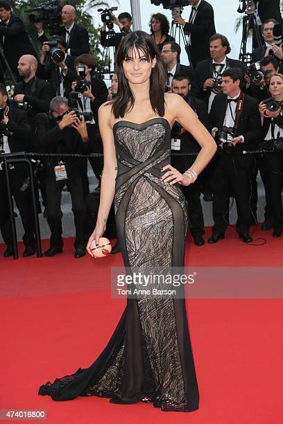 Isabeli Fontana attends the 'Sicario' premiere during the 68th annual Cannes Film Festival on May 19 2015 in Cannes France