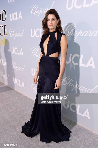 Isabeli Fontana attends the UCLA IoES honors Barbra Streisand and Gisele Bundchen at the 2019 Hollywood for Science Gala on February 21 2019 in...