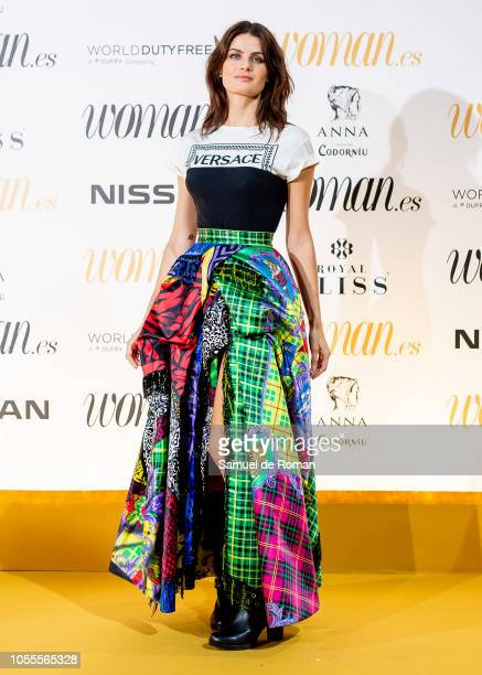 Isabeli Fontana attends Woman awards 2018 at the Casino de Madrid on October 30 2018 in Madrid Spain