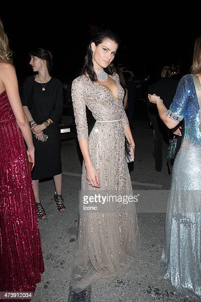 Isabeli Fontana is seen attending at Chopard Party during The 68th Annual Cannes Film Festival on May 18 2015 in Cannes France