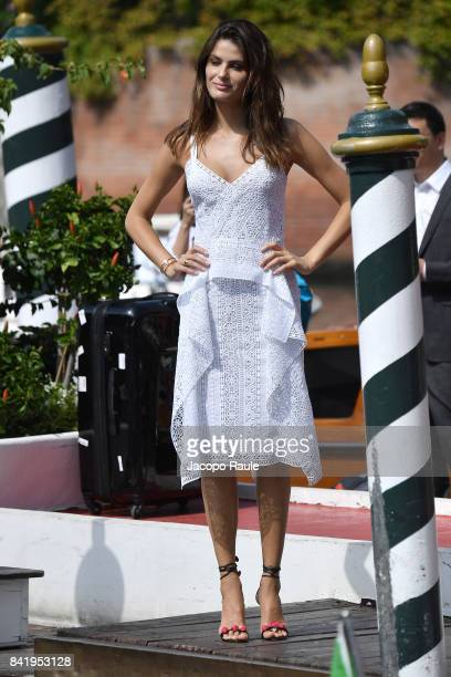 Isabeli Fontana is seen during the 74 Venice Film Festival on September 1 2017 in Venice Italy