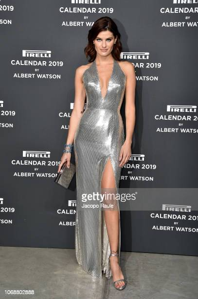 Isabeli Fontana walks the red carpet ahead of the 2019 Pirelli Calendar launch gala at HangarBicocca on December 5 2018 in Milan Italy