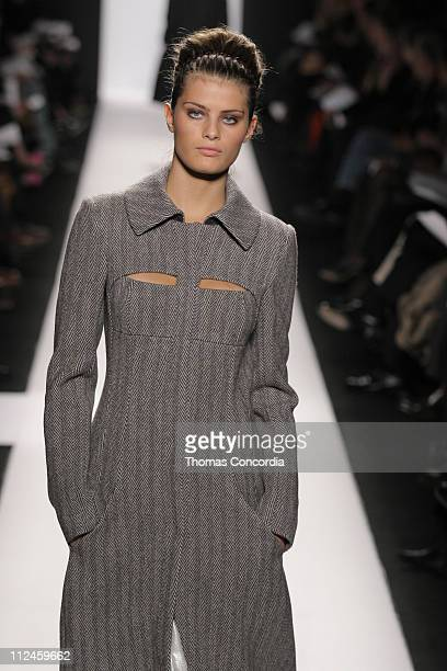 Isabeli Fontana wearing Narciso Rodriguez Fall 2005