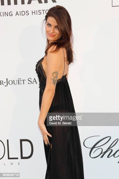 Isabeli Fortana arrives at the amfAR Gala Cannes 2018 at Hotel du CapEdenRoc on May 17 2018 in Cap d'Antibes France