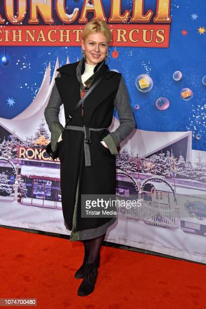 Isabell Gerschke attends the 15th Roncalli christmas circus premiere at Tempodrom on December 22 2018 in Berlin Germany