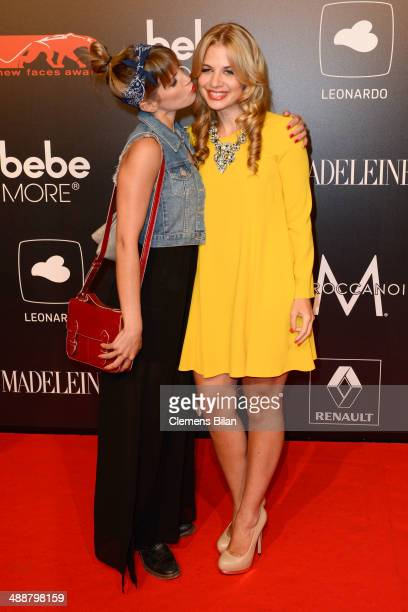 Isabell Horn and Susan Sideropoulos attends Leonardo at the New Faces Award Film 2014 at eWerk on May 8 2014 in Berlin Germany